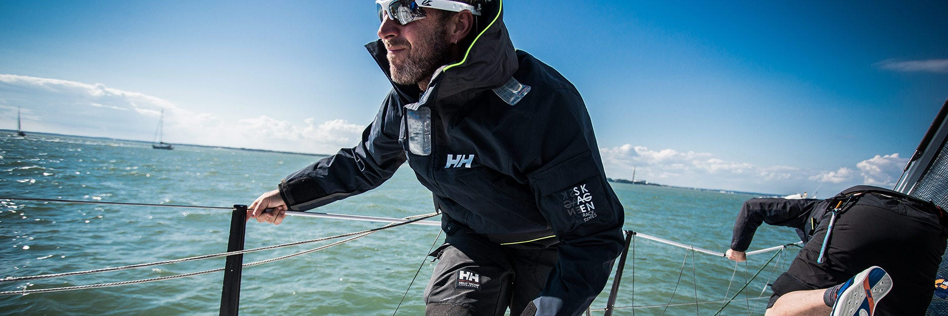 Helly Hansen sailing clothing