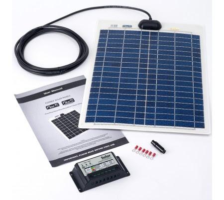 PV Logic 20w Solar Panel Kit with 10Ah Controller